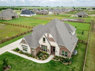 Denton County Single Family Home For Sale: 7151 Faught Road