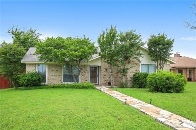 Lewisville Single Family Home Active Option Contract: 1613 Belltower Court