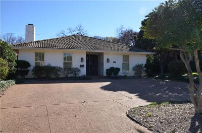 Fort Worth Single Family Home For Sale: 5309 Collinwood Avenue