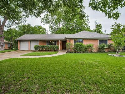 Fort Worth Single Family Home Active Option Contract: 6916 Bal Lake Drive