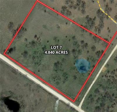 Montague County Residential Lots & Land For Sale: Lot 7 Barrel Springs