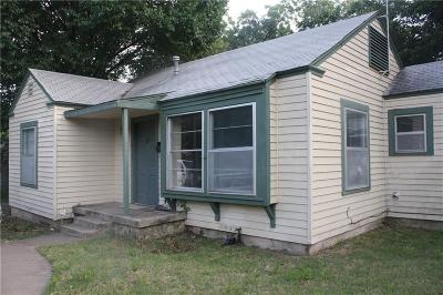 River Oaks Single Family Home Active Option Contract: 1513 Woodlawn Street