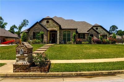 Tyler Single Family Home Active Option Contract: 1105 Cambridge Bend