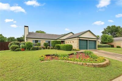 Flower Mound Single Family Home Active Option Contract: 1716 Buckeye Drive
