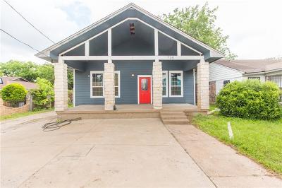 Dallas Single Family Home For Sale: 724 W 12th Street