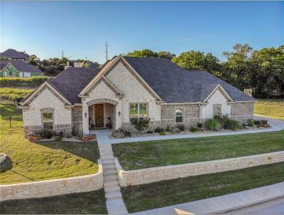 Weatherford Single Family Home Active Contingent: 3525 Lakeway Drive