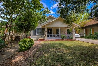 Fort Worth Single Family Home For Sale: 2805 S Jennings Avenue