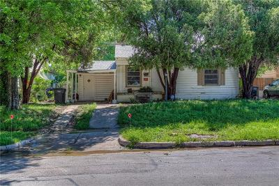 Fort Worth Single Family Home For Sale: 4209 Frazier Avenue