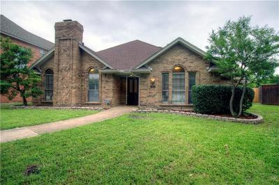 Coppell Single Family Home Active Option Contract: 200 Highland Meadow Circle