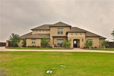 Abilene Single Family Home For Sale: 633 Prosperity Road