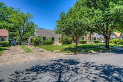 Dallas Single Family Home For Sale: 5239 Saint Charles Avenue