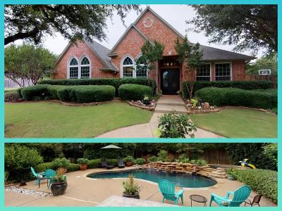 Southlake Single Family Home Active Option Contract: 104 Clear Lake Court