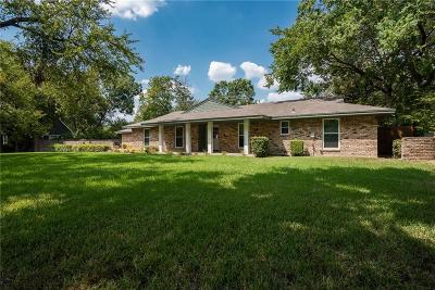 Farmers Branch Single Family Home For Sale: 2633 Farmers Branch Lane