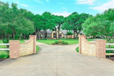 Mansfield Single Family Home Active Option Contract: 5400 Hidden Valley Court
