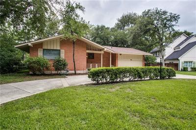 Single Family Home For Sale: 3208 Preston Hollow Road