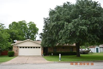 Haltom City Single Family Home Active Option Contract: 4809 Joy Lee Street