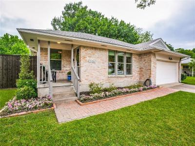 Lake Highlands Single Family Home Active Option Contract: 9217 Lynbrook Drive