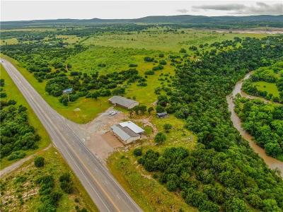 Palo Pinto County Commercial For Sale: 22372 Hwy 16