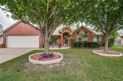 Benbrook Single Family Home Active Option Contract: 10810 Eagle Court