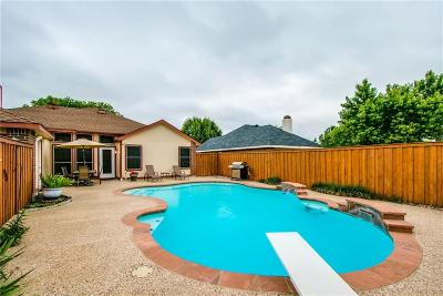 The Colony Single Family Home Active Option Contract: 4173 Clary Drive
