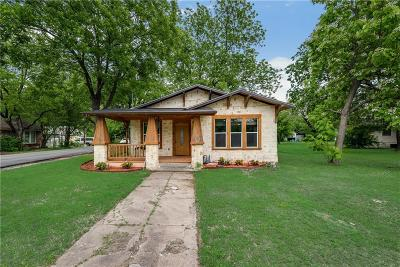Waxahachie Single Family Home Active Option Contract: 404 Farley Street