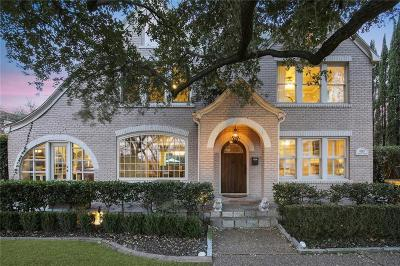 Dallas County Single Family Home For Sale: 4303 Rawlins Street