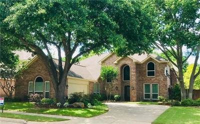 Allen Single Family Home For Sale: 801 Rockcrossing Lane