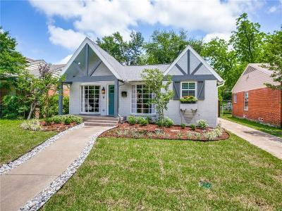 Dallas County Single Family Home For Sale: 7514 Caillet Street