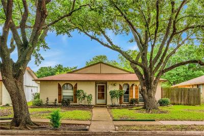 Garland Single Family Home Active Option Contract: 1722 Larchwood Circle