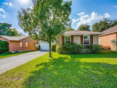 Dallas County Single Family Home Active Option Contract: 9029 Clearwater Drive