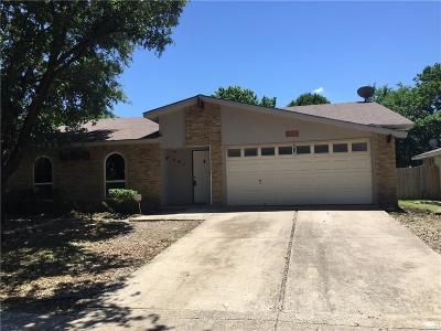 Grand Prairie Single Family Home Active Option Contract: 401 Clearwood Drive