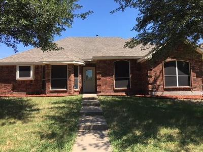Mesquite Single Family Home For Sale: 2009 Island View Court