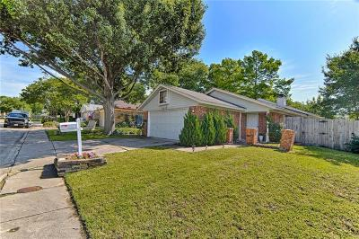 Garland Single Family Home Active Option Contract: 5517 Key Bend