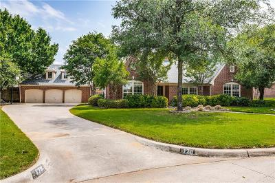 Southlake Single Family Home Active Option Contract: 120 Green Oaks Lane