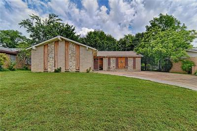Hurst Single Family Home Active Option Contract: 724 Ponderosa Drive
