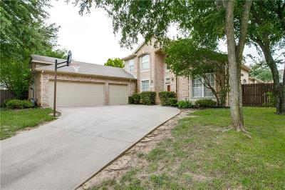 Grand Prairie Single Family Home Active Option Contract: 4217 Lanshire Court