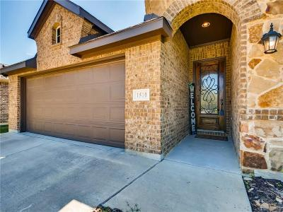Mansfield Single Family Home For Sale: 1510 Cowtown Drive