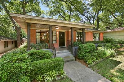 Dallas Single Family Home For Sale: 1650 Kessler Canyon Drive