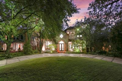 Highland Park Single Family Home For Sale: 3825 Stratford Avenue