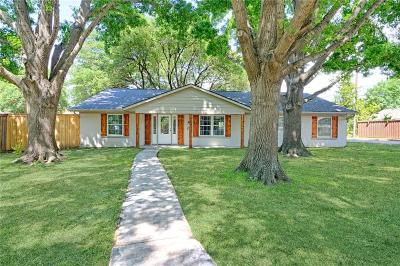 Farmers Branch Single Family Home For Sale: 12437 Veronica Road