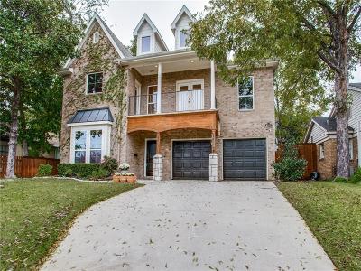 North Oak Lawn, North Oak Lawn Add, Notth Oak Lawn, Oak Lawn Heights, Oaklawn Single Family Home For Sale: 2527 Amelia Street
