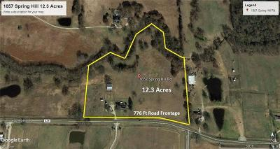 Farm & Ranch For Sale: 1657 Spring Hill Road