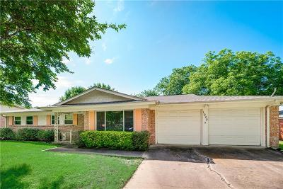 Hurst Single Family Home Active Option Contract: 1920 Mesquite Trail