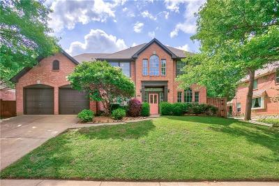Flower Mound Single Family Home Active Option Contract: 4209 Addington Place