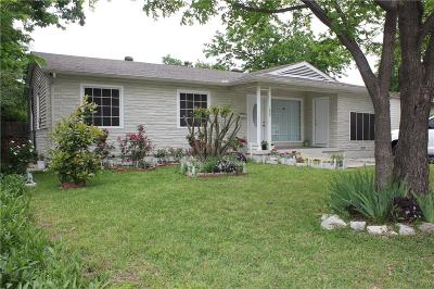 Irving Single Family Home For Sale: 1829 Waldrop Street
