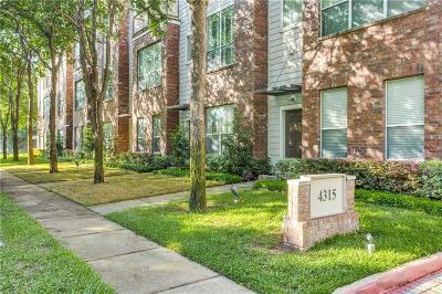 Oak Lawn Townhouse For Sale: 4315 Holland Avenue #8