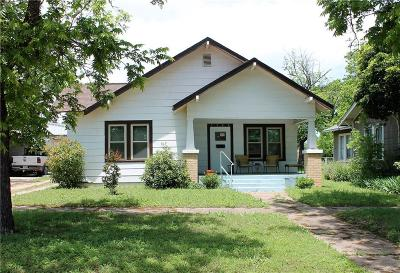 Cisco Single Family Home For Sale: 1108 W 7th Street