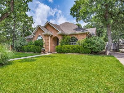 Keller Single Family Home Active Option Contract: 1532 Highland Oaks Drive