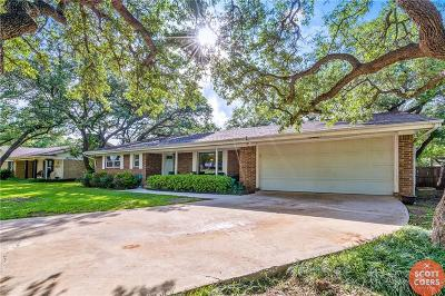 Brownwood Single Family Home Active Option Contract: 1607 Brooks Avenue