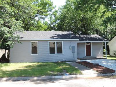 Corsicana Single Family Home Active Contingent: 119 Goodwin Lane